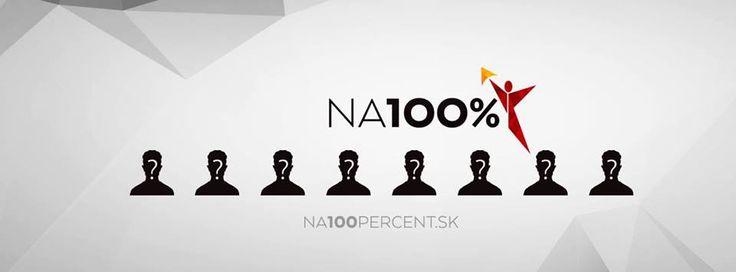 www.na100percent.sk  fb udalosť tu: https://www.facebook.com/events/189940294703729/  Čoskoro odhalíme spíkrov, na ktorých sa môžete tešiť! :)