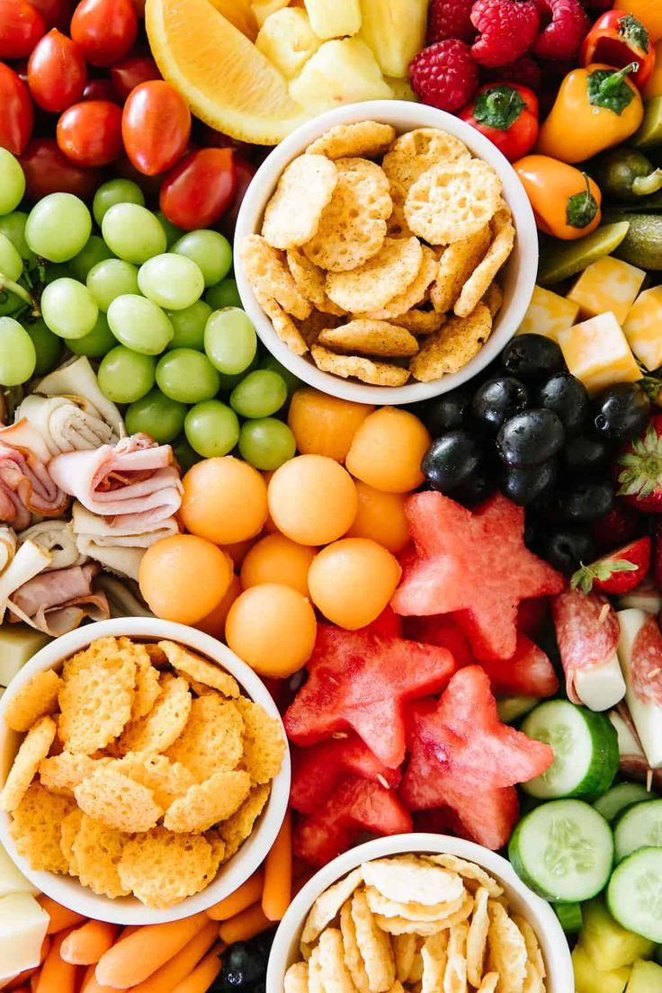 Kid Friendly Summer Snack Platter (gluten free Summer snacks