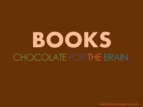 Books and chocolat