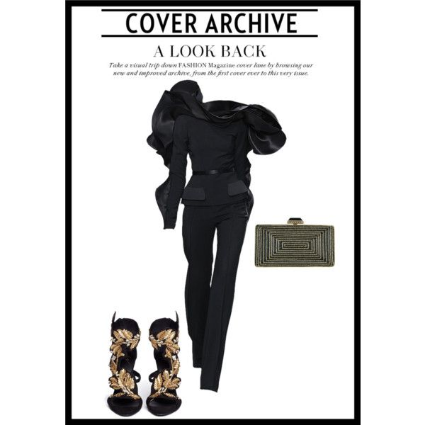 couture 1 by elenilor on Polyvore featuring Giuseppe Zanotti and Judith Leiber