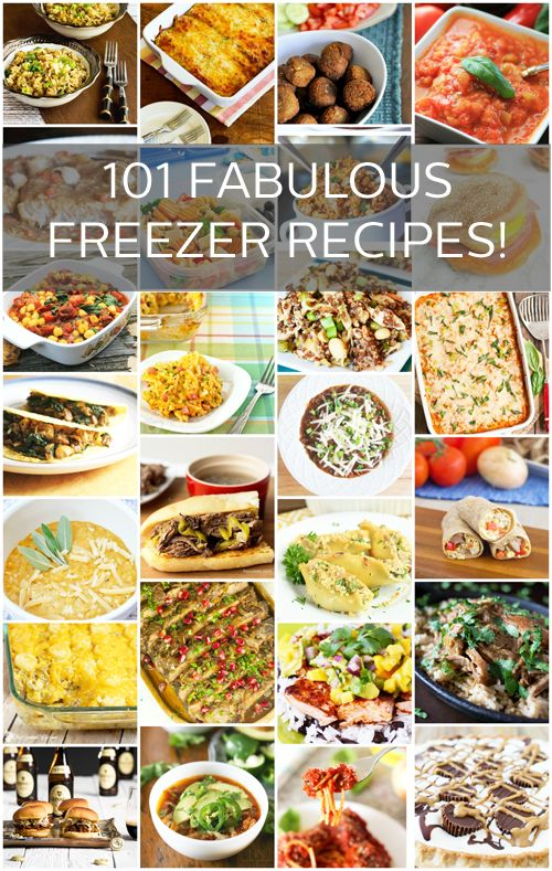 317 best freezer friendly recipes images on pinterest freezer 101 fabulous recipes that you can freeze and then pull out when you need a quick forumfinder Choice Image