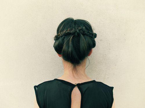 hairPlaits For Long Hair, Braids Hairstyles, Braidbraid Hair, Hair Colors, Dreams Hair, Braids Updo, Girls Hairstyles, Green Hair, Hair Style