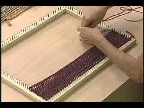 video fazendo peças no tear de pregos - Pesquisa Google