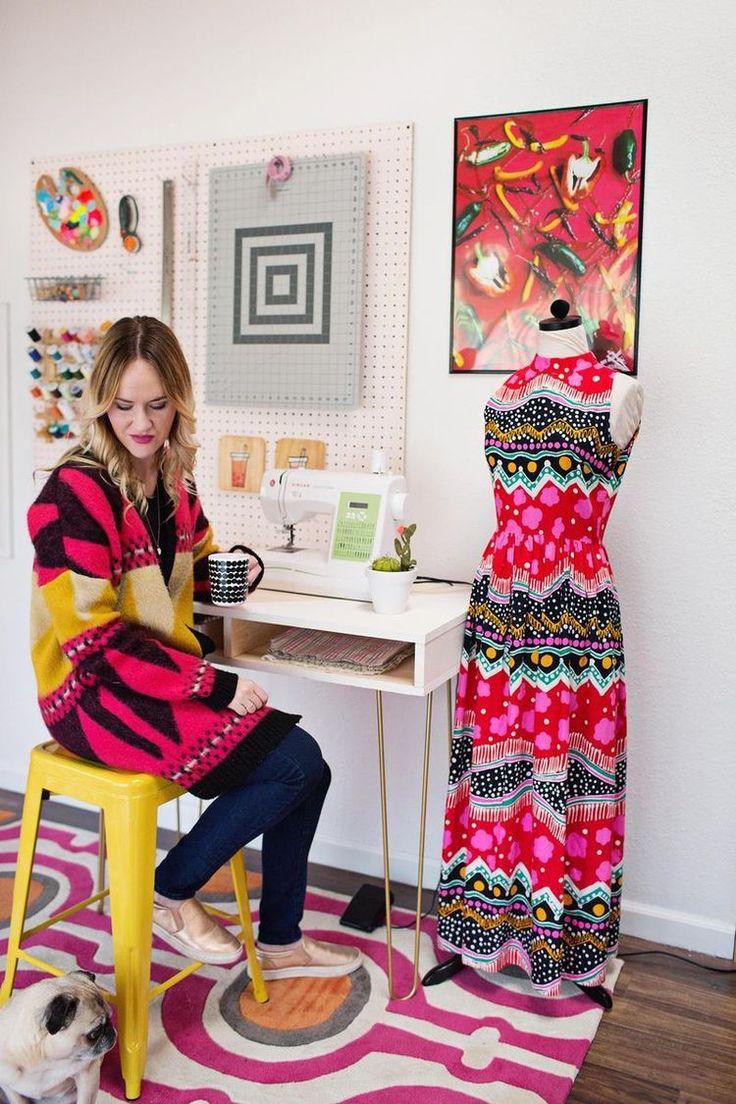 Emma's (Super Easy) DIY Sewing Desk