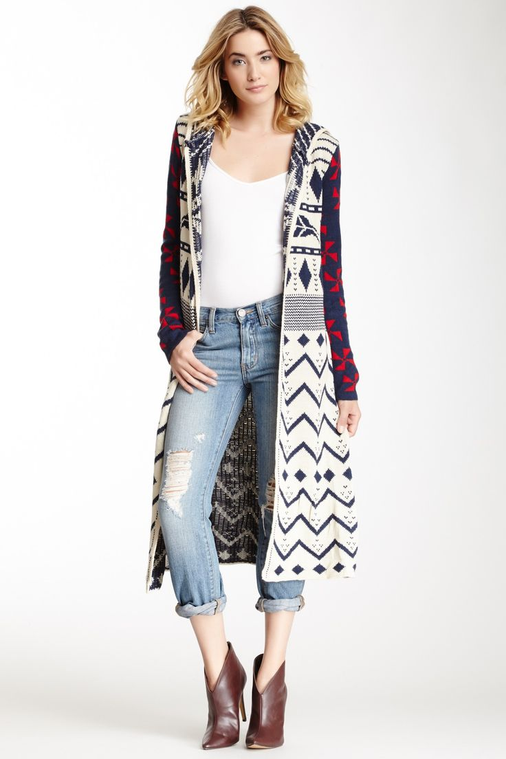 46 best sweater coat images on Pinterest   Fashion ideas, Oscar de ...