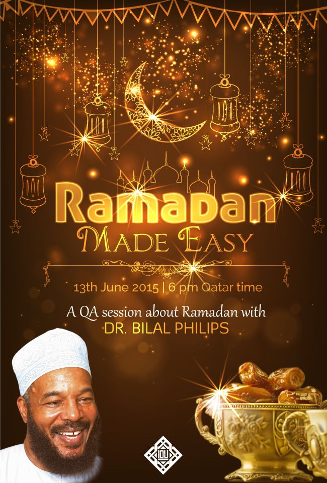 Join the event for link and further details in shaAllah #RamadanQA