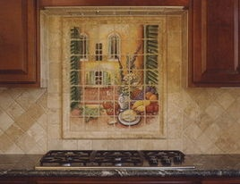 i LOVE this tile picture! Mediterranean Artwork
