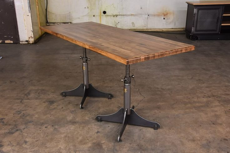 The Whatever Table can be turned into an adjustable height table!