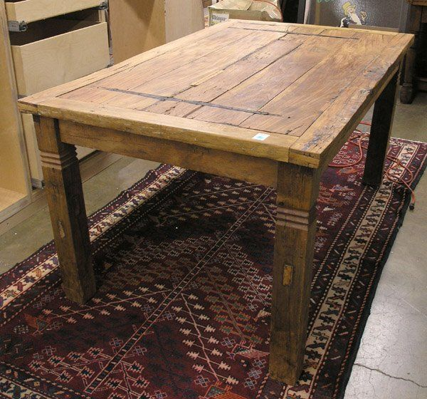 reclaimed door dining table life pinterest