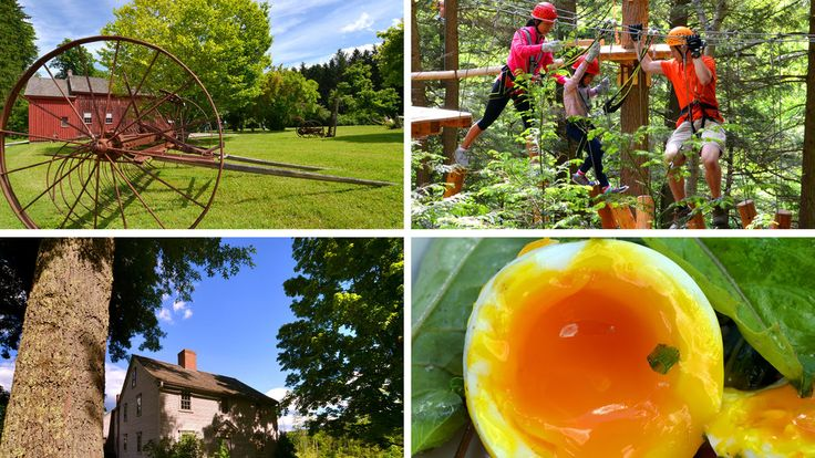 Do you prefer nature or culture? Indulging in local food or burning it off? Choose your own combination during a weekend in western Massachusetts.