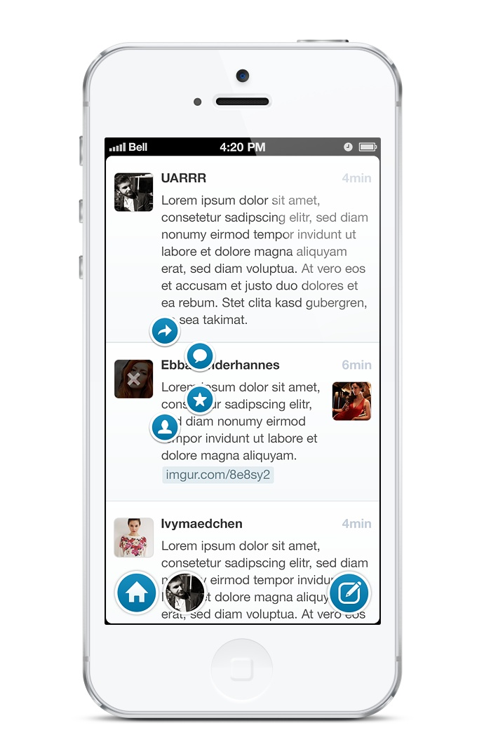 """The right client for Twitter, App.net, Tent.io – A draft"""