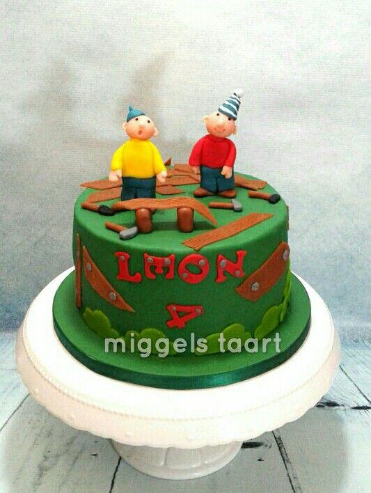 pat and mat cake buurman en buurman taart | fondant cakes