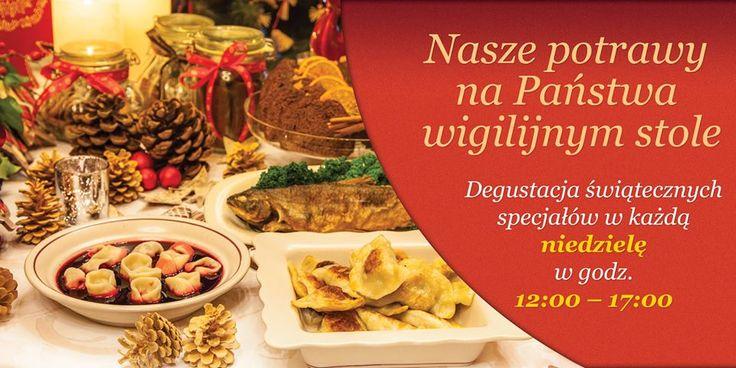 Degustacja świątecznych potraw w każdą niedzielę