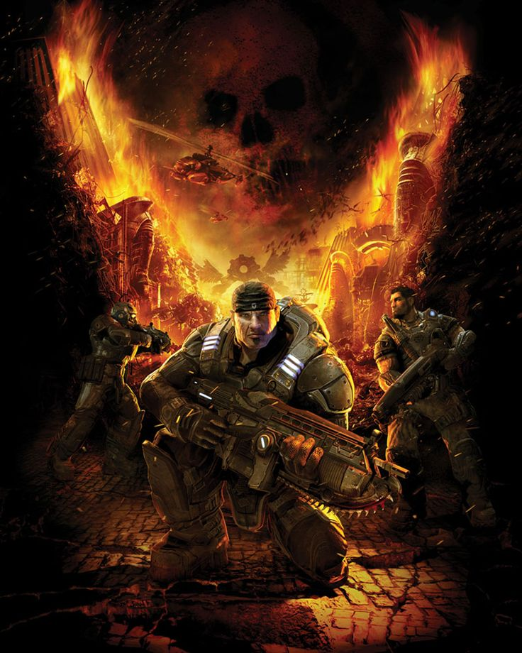 Gears of War Art & Pictures,  Promotional