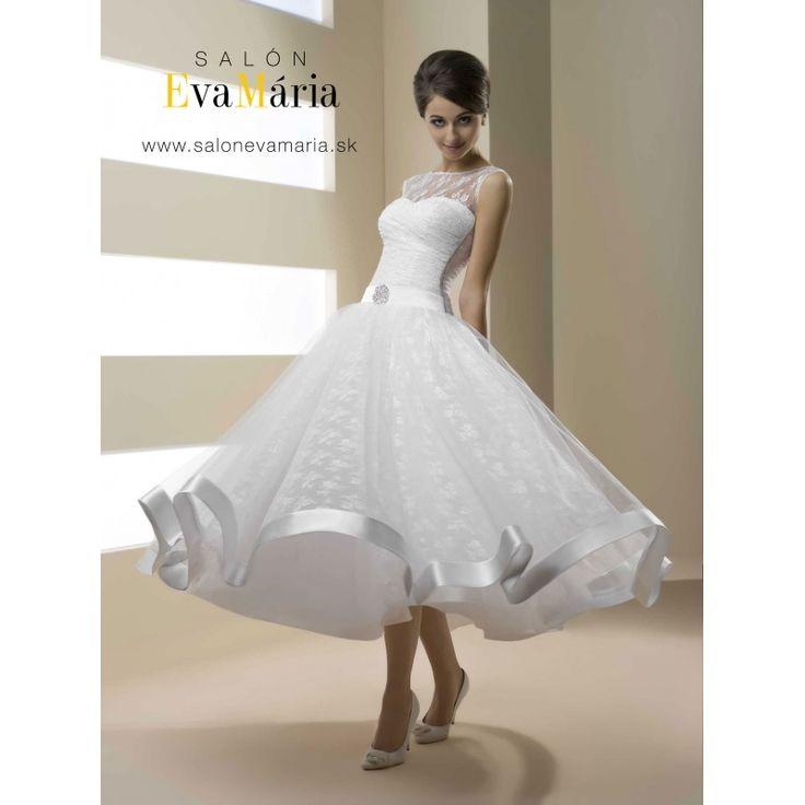 Biele svadobné šaty Anny