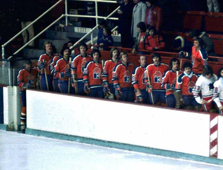 Jersey Knights facing the Toronto Toros, 1973-74.