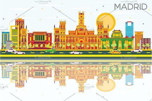 Madrid Skyline #madrid #spain