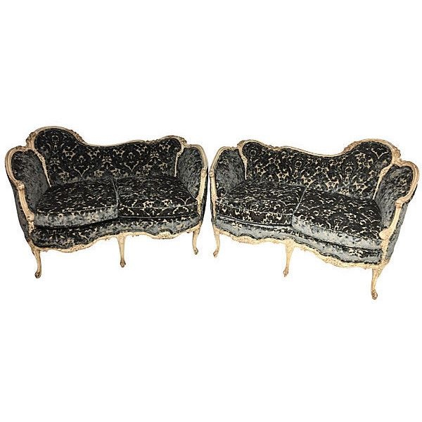 Pre Owned French Louis XV Style Settees Pair   3 000    liked  Second Hand  SofasSecond Hand FurnitureSetteesHome. Best 25  Second hand sofas ideas that you will like on Pinterest