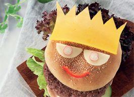 Prinsesseburger - - Ude og Hjemme