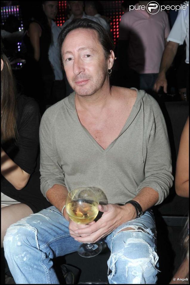 Julian Lennon au VIP Room à Saint-Tropez, le 18 juillet 2010