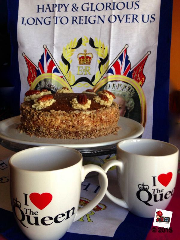 Coffe and Pecan Cake