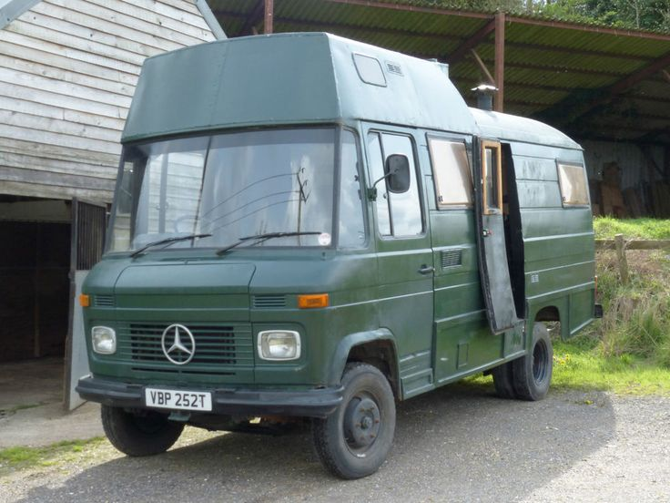 Mercedes 508 Diesel Motorhome Conversion