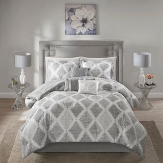 e2eaa8e21df4 Madison Park Caledon 7-piece Comforter Set | Wall Moulding in 2019 ...