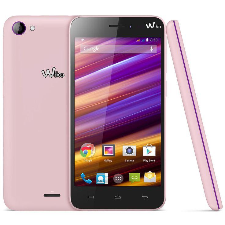 Wiko Jimmy Rose/Violet Smartphone 3G+ Dual SIM avec écran tactile 4.5   NEUF