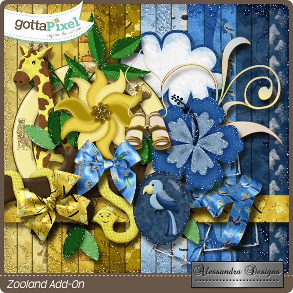 Zooland Add-On created by Alessandra Designs.