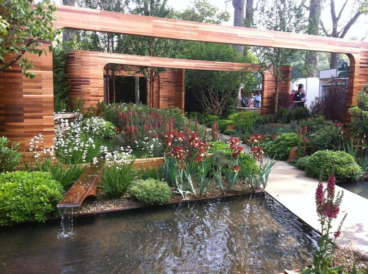 Joe Swift's garden for Homebase