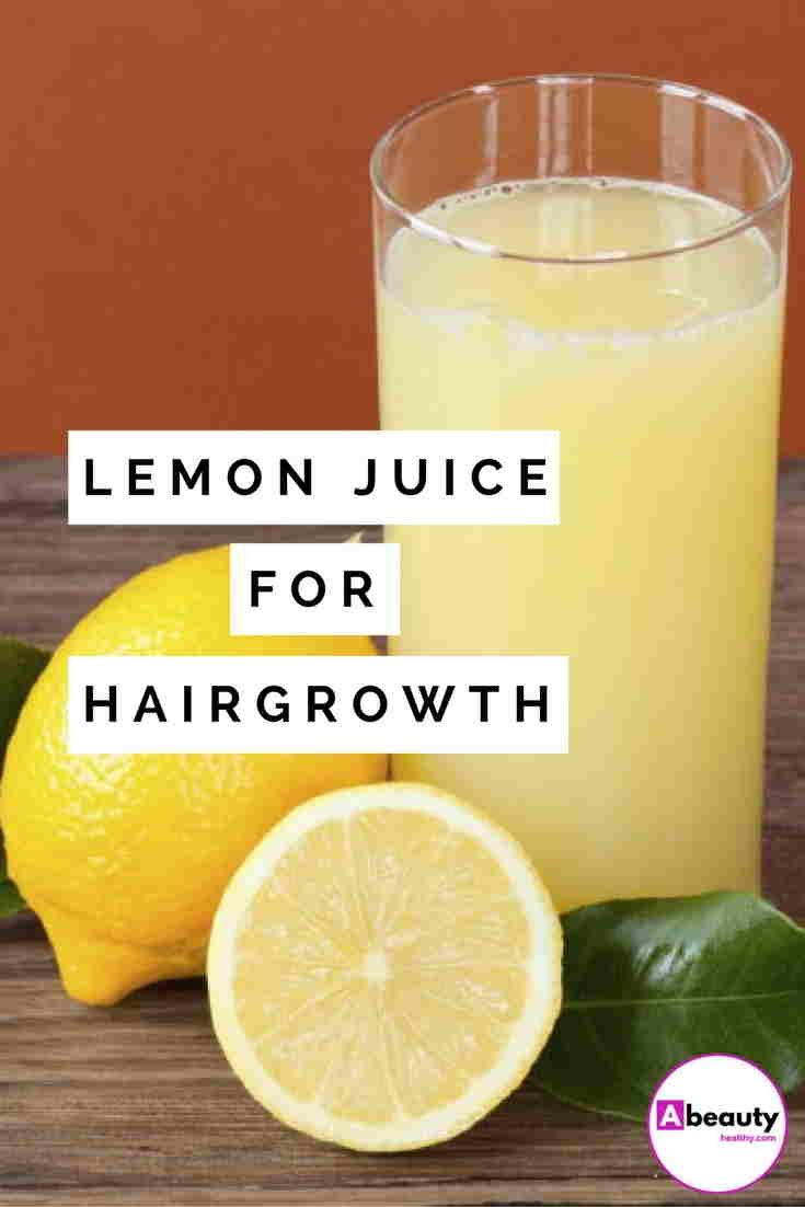 Lemon Juice For Hair Development