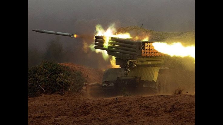 Syria Crisis: Russia's Missile Forces and Artillery Day: Over 600 years ...