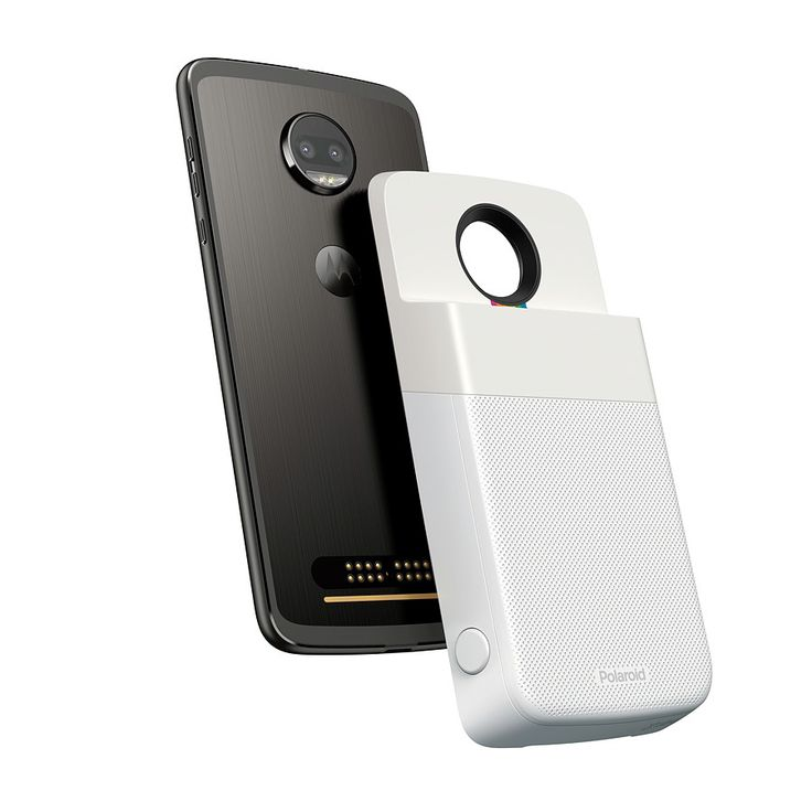 Motorola has just announced a new Moto Mod for its Moto Z smartphones: the Polaroid Insta-Share Printer. The printer attaches directly to the back of the s