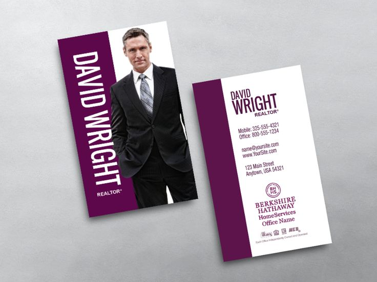 Order Berkshire Hathaway Business Cards   Free Shipping   Design Templates   Berkshire Hathaway Business Cards