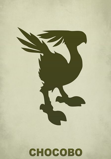 43 best images about chocobo on pinterest for Music minimal art