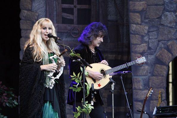 Blackmore's Night band renaissance music folk music UK Candice Night und Ritchie Blackmore performing at Citadel Music Festival Berlin Germany