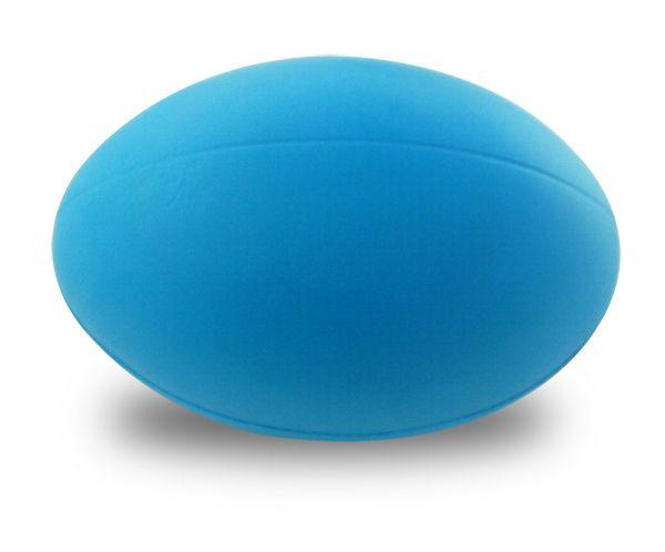 Blue Rugby Ball http://foamballsdirect.co.uk/