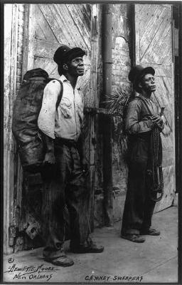 Chimney sweeps, New Orleans...