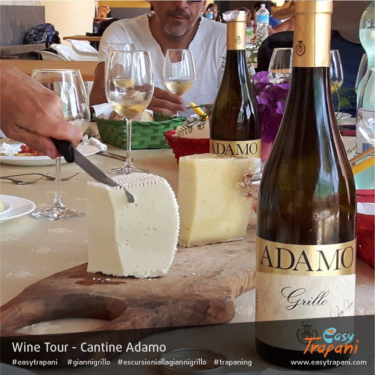 my surname is Grillo, like the main grape and wine in Western Sicily. Here a rare organic wine Grillo from Adamo vineyards in Alcamo, a strong wine to be well associated for organic cheese taste from goats and sheeps during wine tour's lunch time  Find out more about the Wine Tour: http://www.easytrapani.com/escursione-winetour.php?id=61 Contact us for booking or for any other customized tour we can exclusively arrange for you easytrapani@easytrapani.com (+39) 3246085443  #giannigrillo…