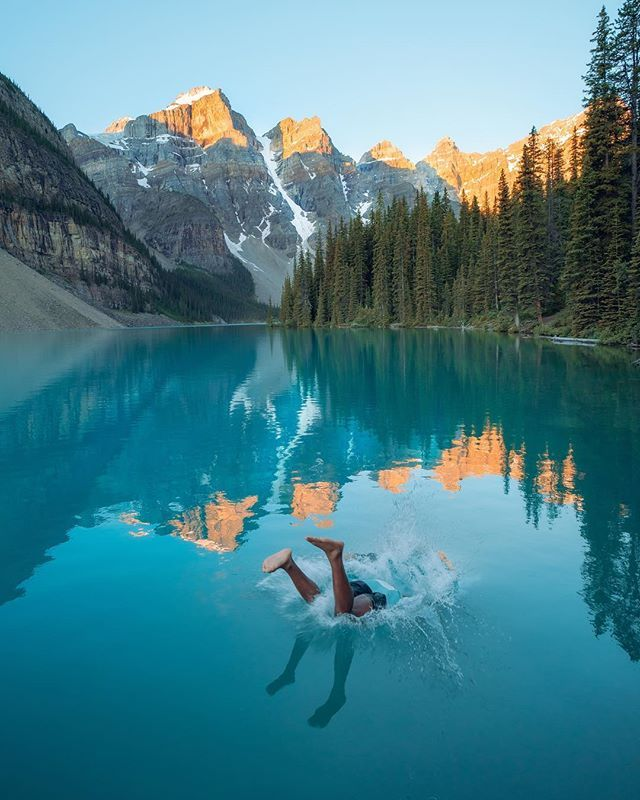 Splash Moraine : splash, moraine, 🧘🏽♂️⛰💧•, Spliggity, Splash, Days,, Hours,, Seconds, Until, Summer., Li…, Places, Visit,, Rivers, Roads,, Travel, Photography