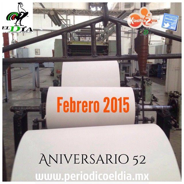"""9 Me gusta, 3 comentarios - Anunciate #Gratis, AnunciaT Ya (@klasifica2) en Instagram: """"@eldiamexico Calentando Rotativas para el 52 Aniversario del #Periodico @eldiamexico este Febrero…"""""""