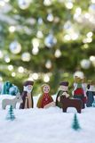 Christmas Nativity Scene Of Jesus Birth Stock Image