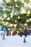 Christmas Nativity Scene Of Jesus Birth Stock Image