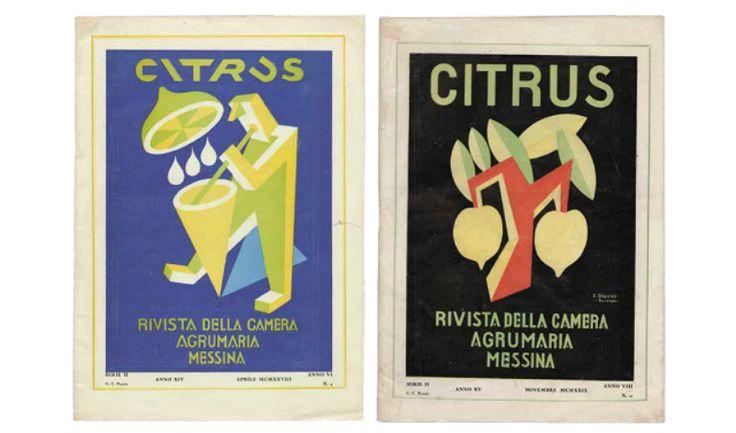 Citrus - Depero - Rivista della Camera Agrumaria Messina