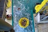 Fantastic Voyage: Splashdown! The Fantastic Voyage ride at the Wilderness indoor water park in Wisconsin Dells.