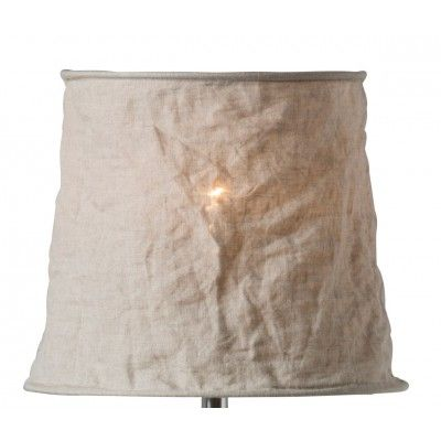 NEW Vivianne 32 natural Stone washed linen - Natural finish Art nr: S33/32/02  Dimensions: H25 Ø32 ø25  Lamp socket: E27 Sales pack: 4  Vivianne is a beautiful lampshade in stone-washed linen with a crinkled effect. The lampshade can be turned upside down, so you can use it both as a table lampshade as well as a pendant lampshade. Vivianne comes in five colours and in three sizes. - See more at: http://www.wattveke.se/vivianne-32-natural.html#sthash.UVR2IoXX.dpuf