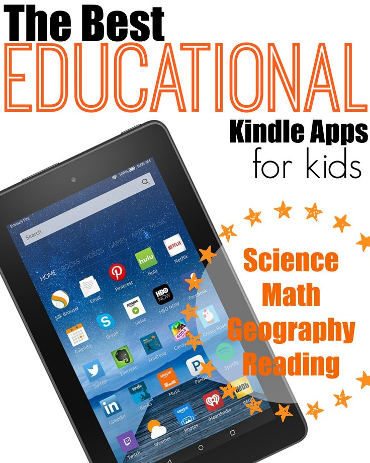 Best Kindle Apps for Kids