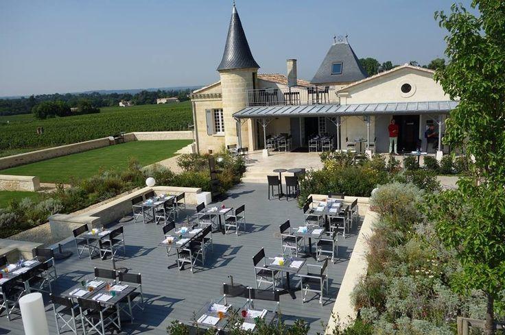 Venez réserver votre repas au château de Candale en allant sur Wine Tour Booking