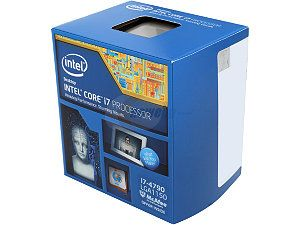 Intel Core i7-4790 Haswell Quad-Core 3.6GHz LGA 1150 84W Desktop Processor Intel HD Graphics 4600 BX80646I74790