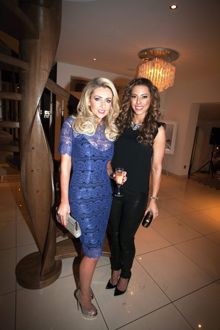 Gemma Merna enjoying the evening!